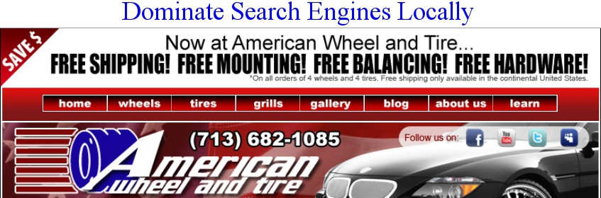 Local Wheel and Tire Company SEO Case Study