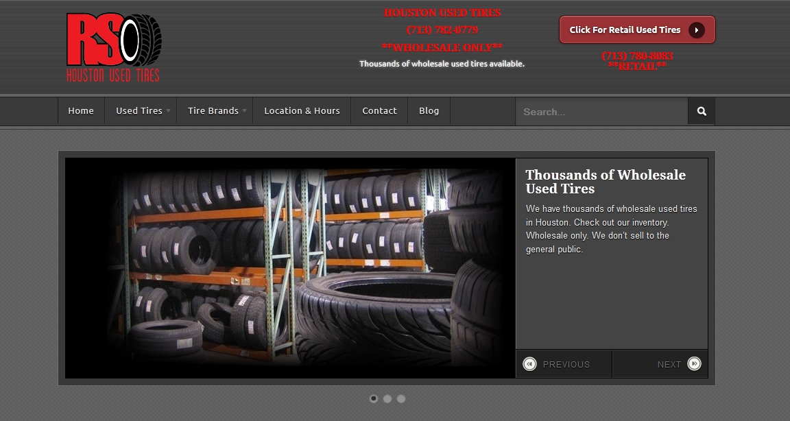 Wholesale Used Tires SEO Case Study